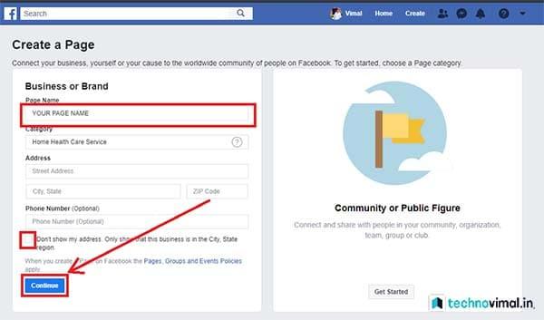 TechnoVimal Facbook Page