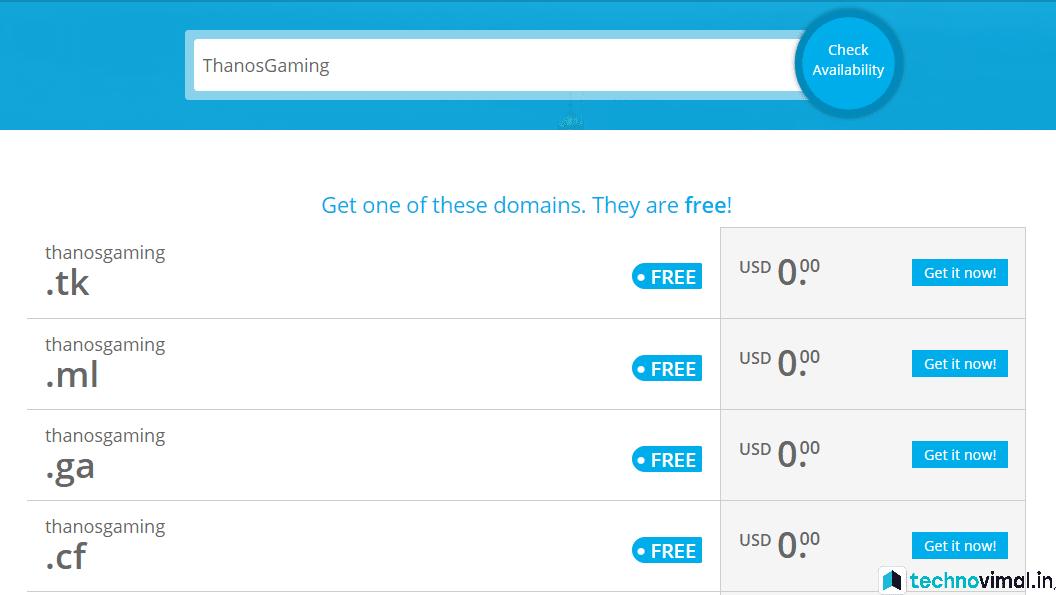 Free me Freenom Se Custom Domain Name Kaise Register Kare