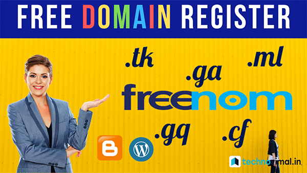 Free me Freenom Se Custom Domain Name Kaise Register Kare