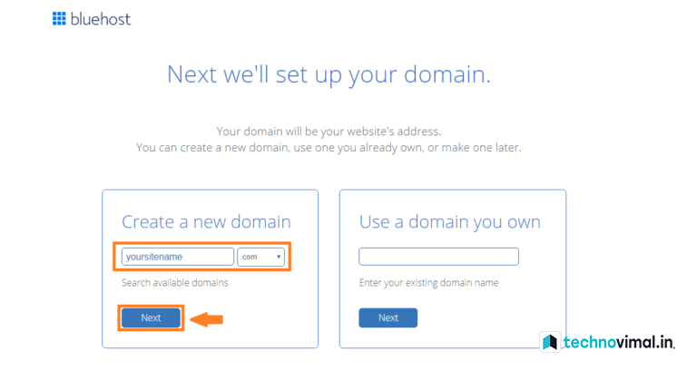 BlueHost Domain Discount