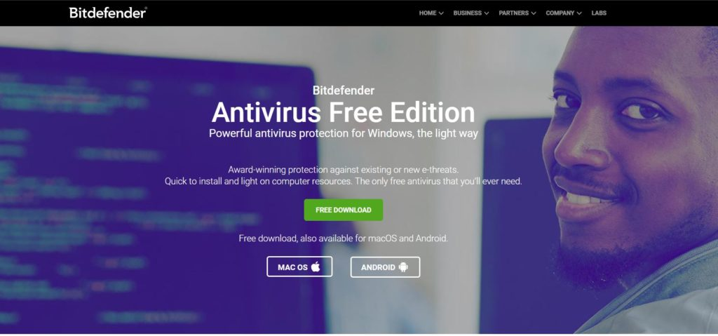 Bitdefender for Windows 10