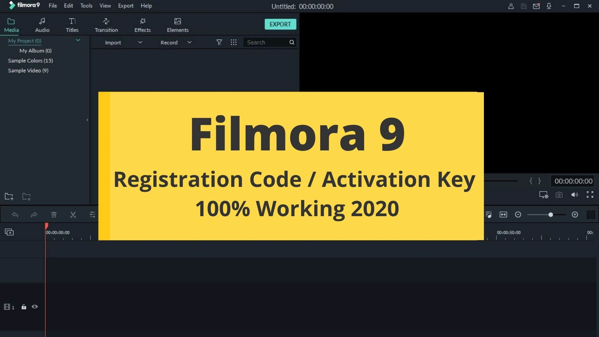 Wondershare Filmora 9 Free Download with ( Activation Key Code) 2020