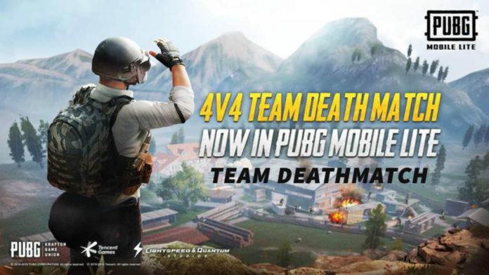 PUBG MOBILE LITE 4V4 Team Deathmatch