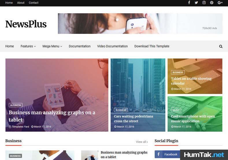NewsPlus v2 Premium Looking.