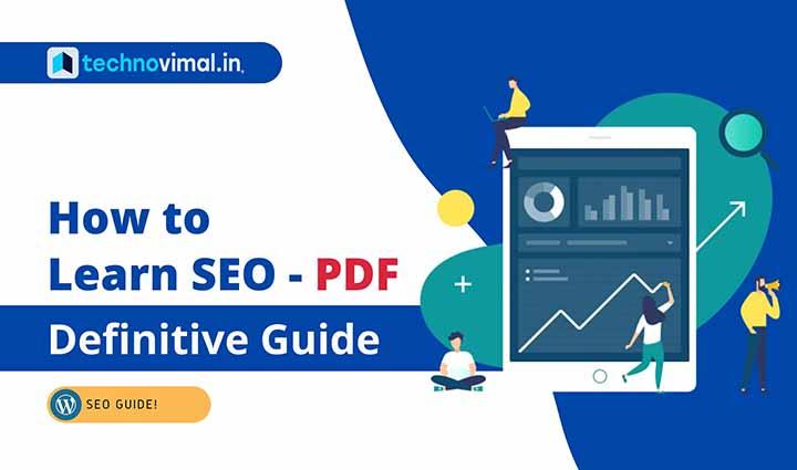 How to Learn SEO PDF