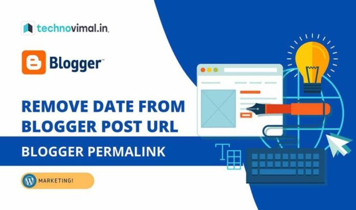 Remove Date From Blogger Post URL