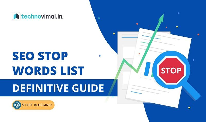 SEO Stop Words List