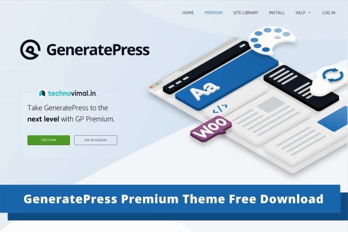 GeneratePress Premium Free Download