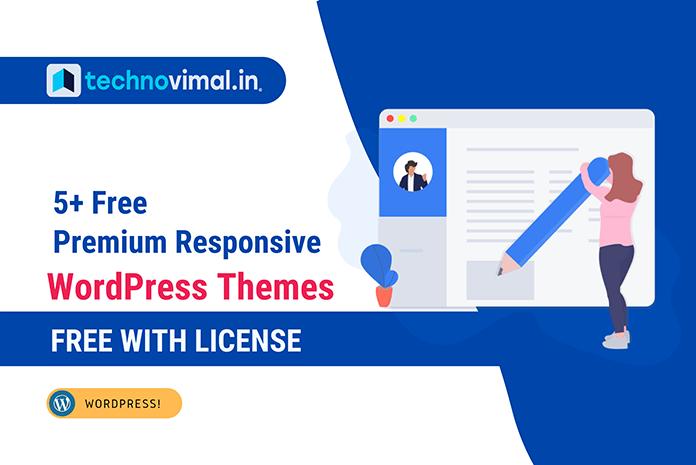 Free Premium Responsive WordPress Themes with License