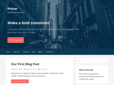 Primer WordPress Themes