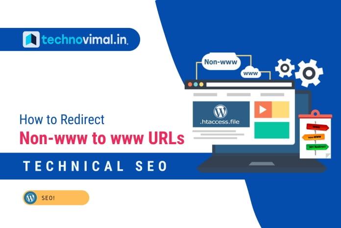 Redirect Non-www to www URLs