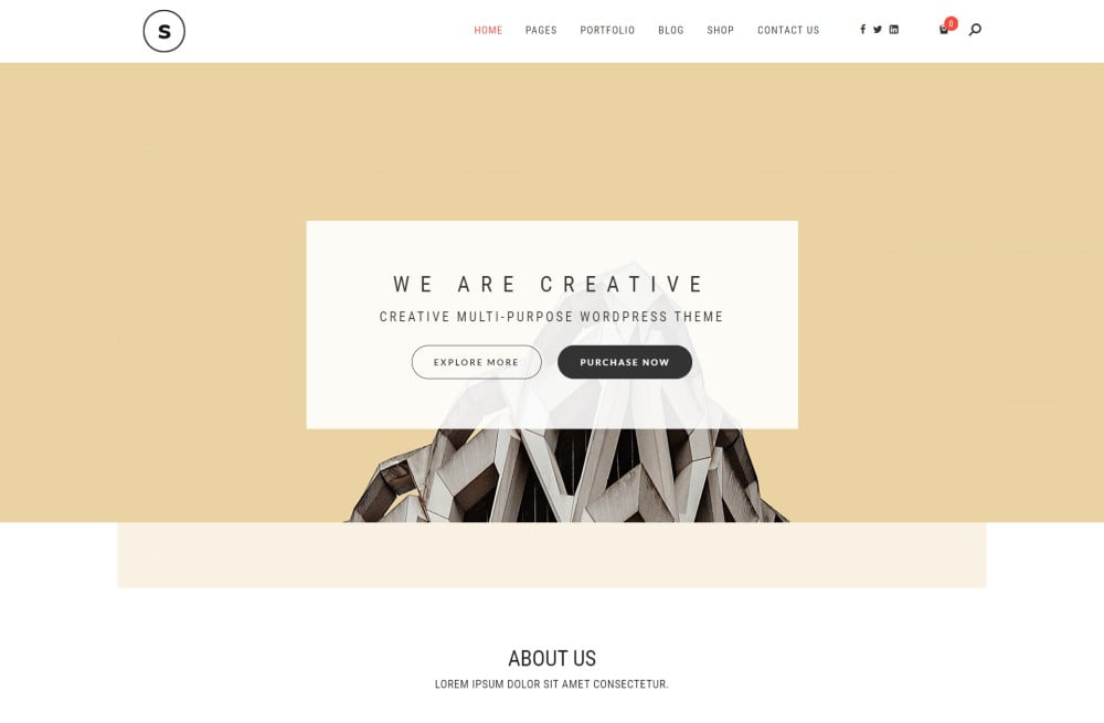 Seline - Creative Photography & Portfolio Free Premium Responsive WordPress Themes with License