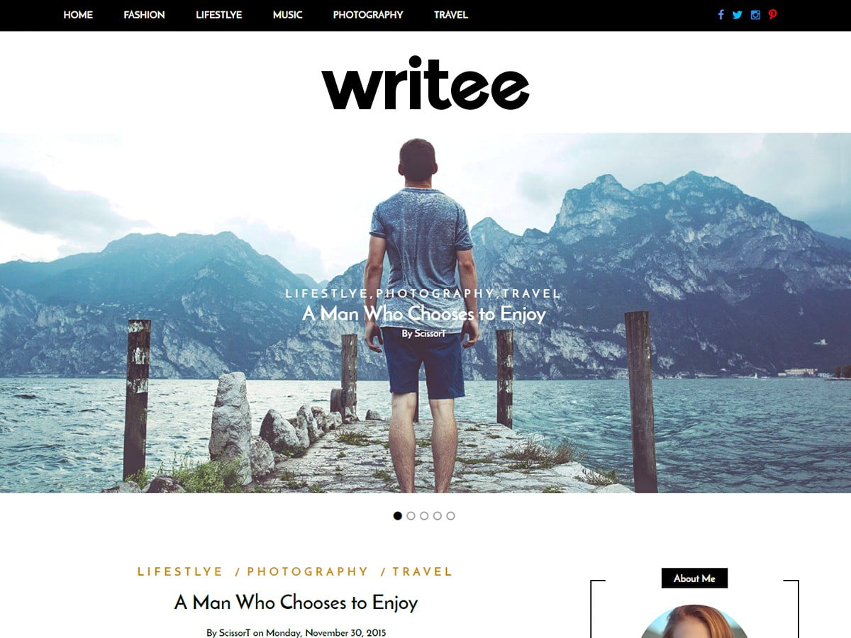 Writee WordPress Themes